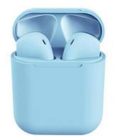 Беспроводные Bluetooth наушники Inpods 12 Голубой 4230-02