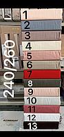Туреччина, ОРИГІНАЛ!!! Сатинова простирадло 240х260 см + наволочки 50х70 див (2 шт), червоний колір