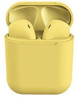 Беспроводные Bluetooth наушники Inpods 12 Желтый 4230-03