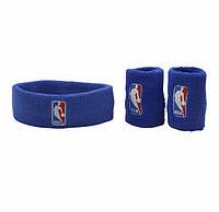 Баскетбольний пов'язка на голову NBA з напульсниками, фото 1