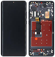 Дисплей Huawei P30 Pro + Touchscreen with frame (original) Black