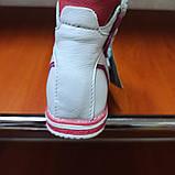 Босоножки ортопедические модные красивые оригинальные нарядные белого цвета для девочки., фото 4