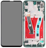 Дисплей Huawei P Smart Z, Y9 Prime 2019, Honor 9X + Touchscreen with frame (original) Green