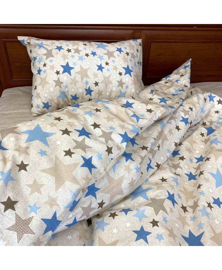 Набір постільної білизни дитячий полуторний Магія зірок