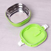 Термос для їжі харчовий термос 700 мл Empire 1518 Green, фото 2