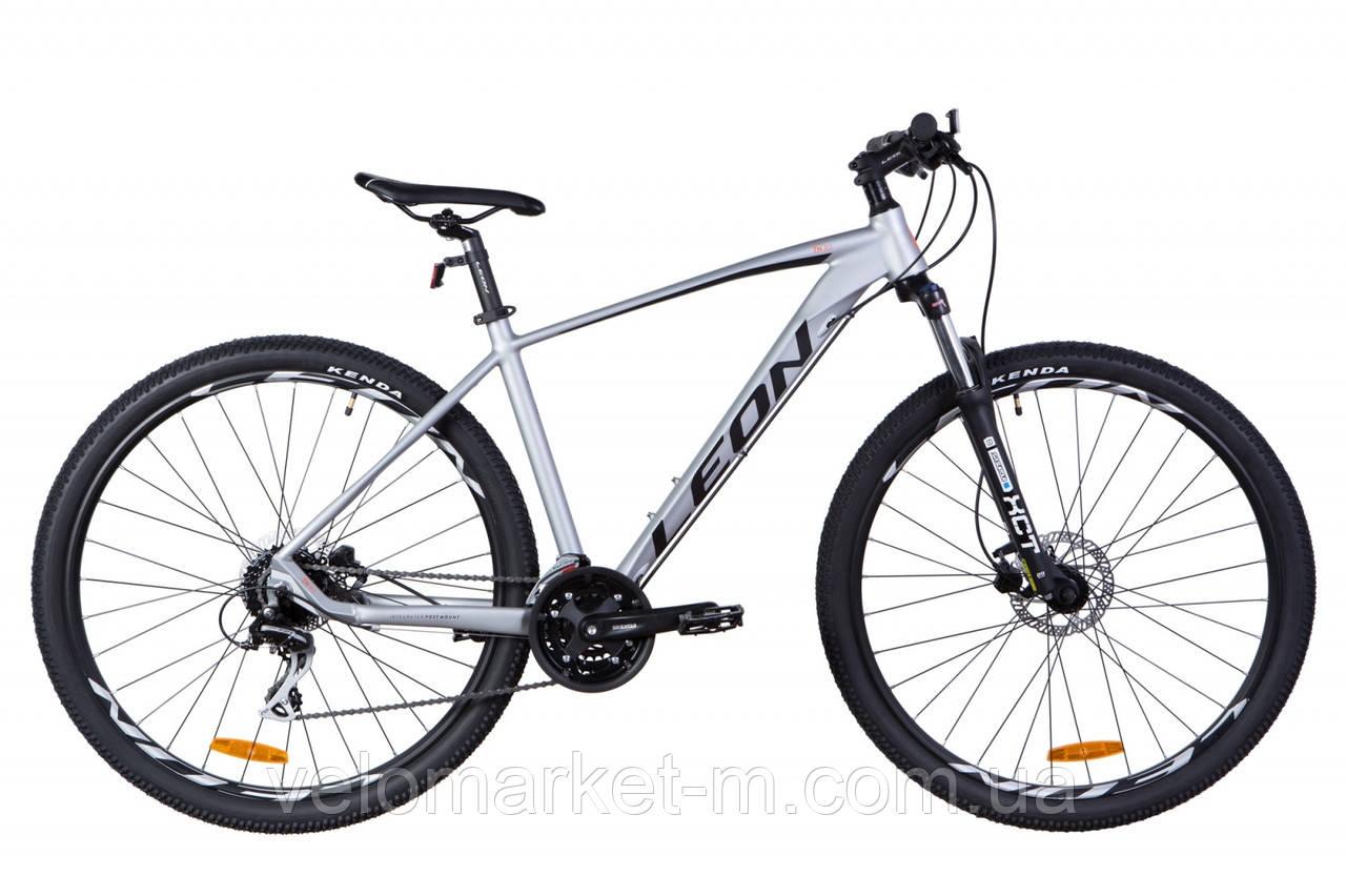 """Велосипед 29"""" Leon TN-80 19"""" 2021 сірий"""