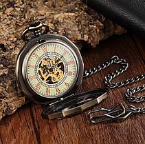 Карманные мужские часы механика паук, фото 2