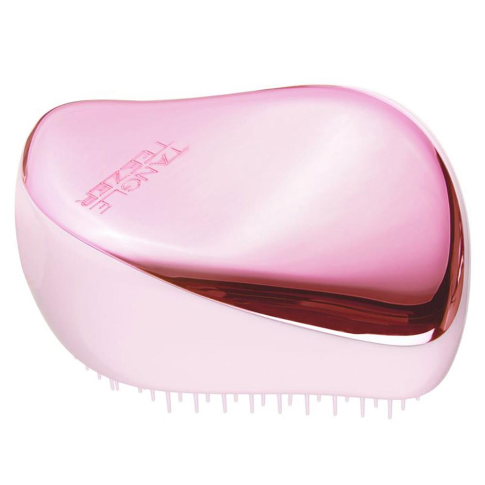 Компактний гребінець для волосся Tangle Teezer Compact Styler Baby Doll Pink Chrome (5060630046743)