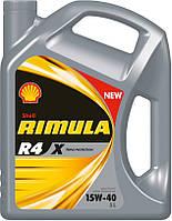 Моторное масло Shell R4 X Rimula 15W-40 5л