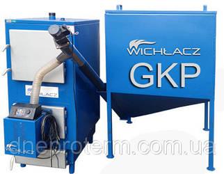 Котел твердотопливный Wichlaсz модель GKP-100 под пеллетную горелку