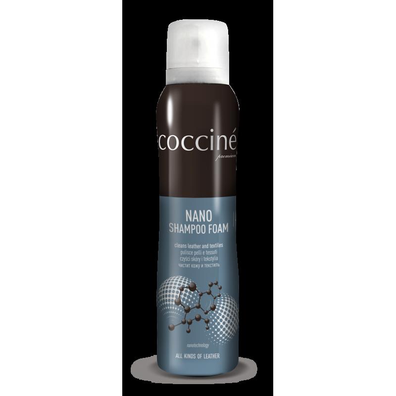 Шампунь для очистки кожи, замши и текстиля Coccine NANO SHAMPOO 150 мл