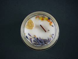 """Свічка ароматична для йоги та медитації """"At the Lake"""" 100 ml (скляний контейнер)"""