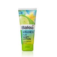 Balea Wellness Fuß Samtlotion Лосьон для ног с мятой и лимонной травой 100 ml