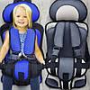 Детское автокресло бескаркасное с подголовником 9-36 кг., фото 4