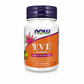 NOW Foods, EVE, Superior Women's Multi - Мультикомплекс для женщин, 30 капсул