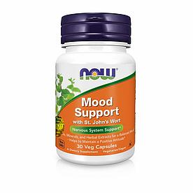 NOW Foods, Mood Support - Поддержка нервной системы, 30 вегетарианских капсул