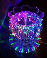 """Світлодіодний обертається """"Квітка"""" led magic ball light"""