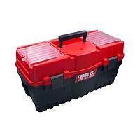 """Ящик для інструментів з лотком 22"""", 547х271х278 мм Haisser (105869)"""