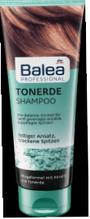 Профессиональный шампунь Регенерация и восстановление волос   Balea Tonerde Shampoo  250 мл.