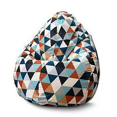 """Крісло мішок груша """"Мозаїка 2"""""""