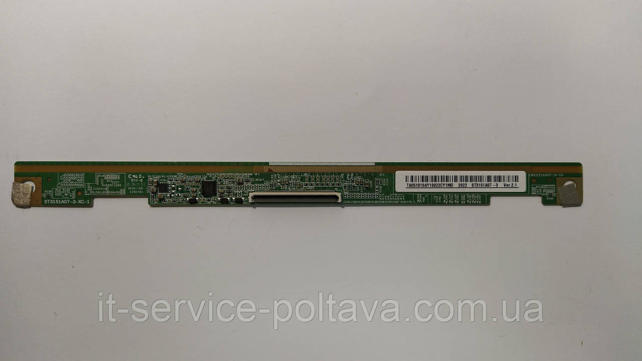 Плата матриці ST3151A07-3-XC-1 для телевізора Bravis/Samsung