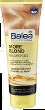 Профессиональный шампунь Стойкий цвет для светлых волос  Balea Professional More Blond 250 мл.