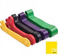 Эспандер-петля резина для фитнеса, подтягивания, тренировок Power Band 2 - 54 кг CN-RB022