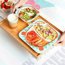 """Набір дитячого посуду з бамбука """"Жираф"""" арт. 870-24369, фото 3"""