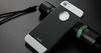 """Чехол черный """"Moshi"""" для Iphone 5/5S, фото 1"""