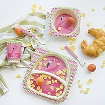"""Набір дитячого посуду з бамбука """"Теля"""" арт. 870-24376, фото 3"""