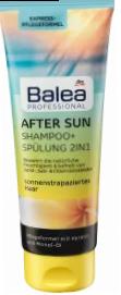 Професійний шампунь з кондиціонером після засмаги Balea After Sun 2in1 Shampoo&Spulung 250 мл