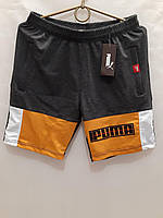 Шорты мужские трикотажные PUMA размер 48-56, цвет уточняйте при заказе, фото 1