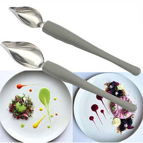 Ложка-перо для декорирования блюд (2 шт) арт. 860-2242288