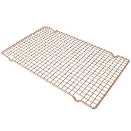 Решетка для глазировки и охлаждения десертов (40.5х25.5 см) арт. 870-223945255, фото 2