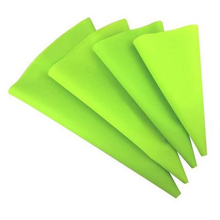 Кондитерський мішок силіконовий зелений 30 см Польща арт. 870-031130, фото 2