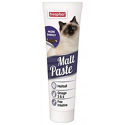 Паста Malt Paste Мальт Паста для виведення шерсті зі шлунку для котів 100 г