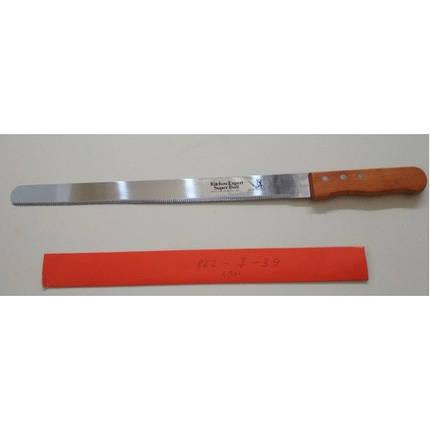 Кондитерский нож с мелким зубчиком арт. 822-7-39 (49 см), фото 2