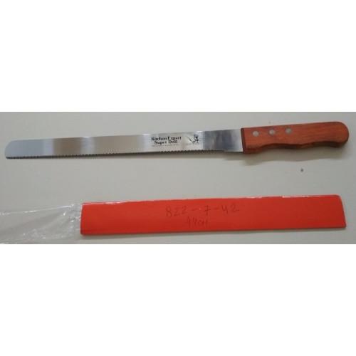Кондитерский нож с мелким зубчиком арт. 822-7-42 (44см)