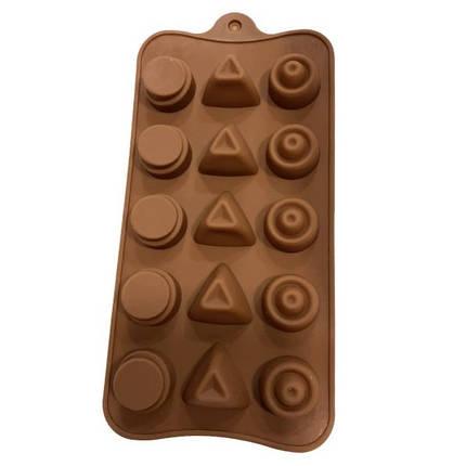 """Силиконовая форма для конфет """"Ассорти"""" арт. 870-234068, фото 2"""