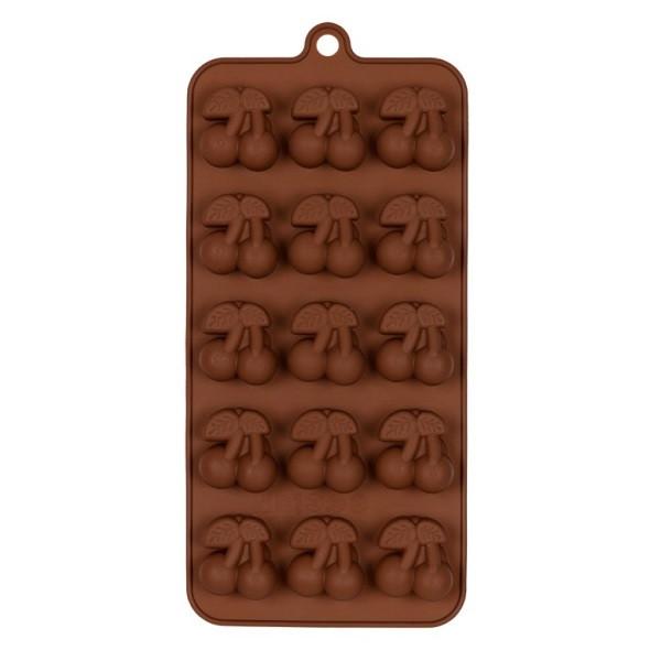 """Силіконова форма для цукерок """"Вишня"""" арт. 870-234050"""