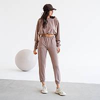 Женский стильный прогулочный спортивный костюм, фото 1