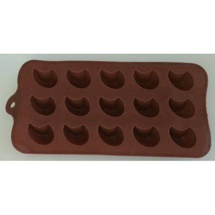 """Силиконовая форма для конфет """"Капля"""" JSC-2760 арт. 822-9-16, фото 2"""