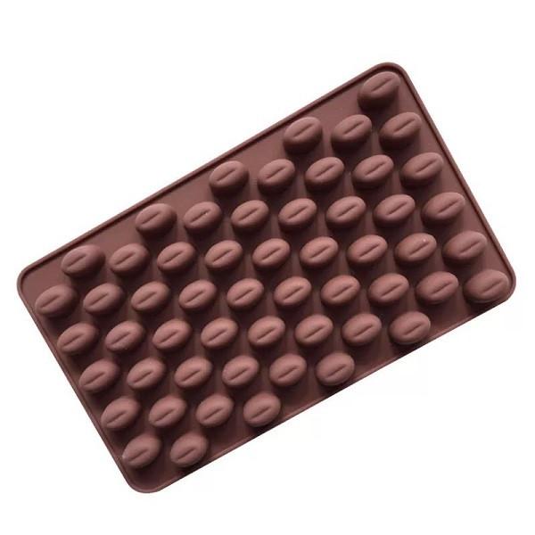 """Силиконовая форма для конфет """"Кофейные зерна мини"""" арт. 870-234101"""