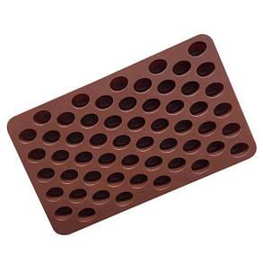 """Силиконовая форма для конфет """"Кофейные зерна мини"""" арт. 870-234101, фото 2"""