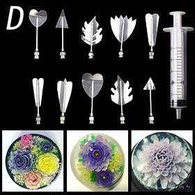 Инструменты для приготовления желе с 3D цветами (D) арт. 840-2A9