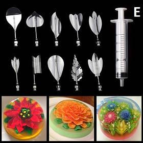 Інструменти для приготування желе з 3D квітами (E) арт. 840-2A10