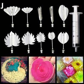 Инструменты для приготовления желе с 3D цветами (J) арт. 840-2A8