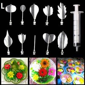 Инструменты для приготовления желе с 3D цветами (L) арт. 840-2A11