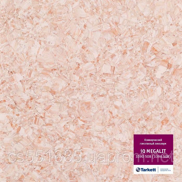 3390 508 (3396 508) - линолеум коммерческий гомогенный 34 кл, коллекция IQ Megalit (Мегалит) Tarkett (Таркетт)