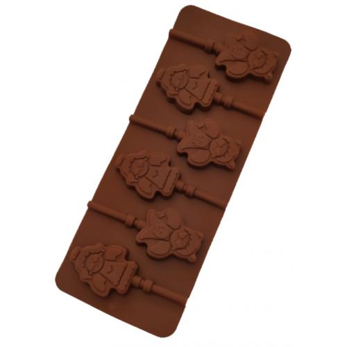 """Силиконовая форма для конфет """"Ангел"""" арт. 840-623"""